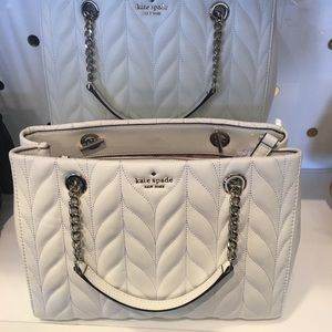 Meena Briar Lane Quilted Leather Shoulder Bag